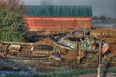 Samish River Shipwrecks 1 HDR
