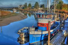 Samish River Boats 1 HDR