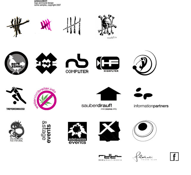 schönerewelt logo design samples