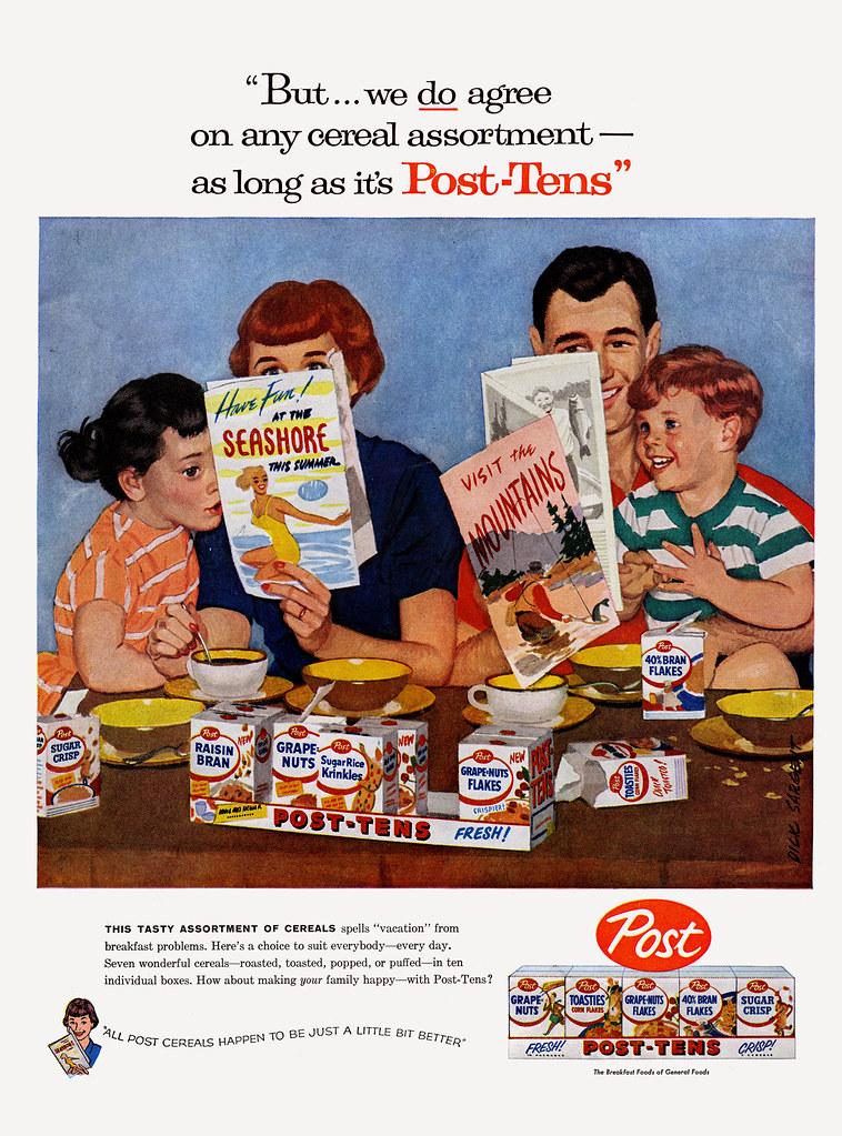Post Tens Family Vacation Magazine Ad 1957 Dick Sa Flickr