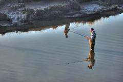 Fishing Reflection HDR