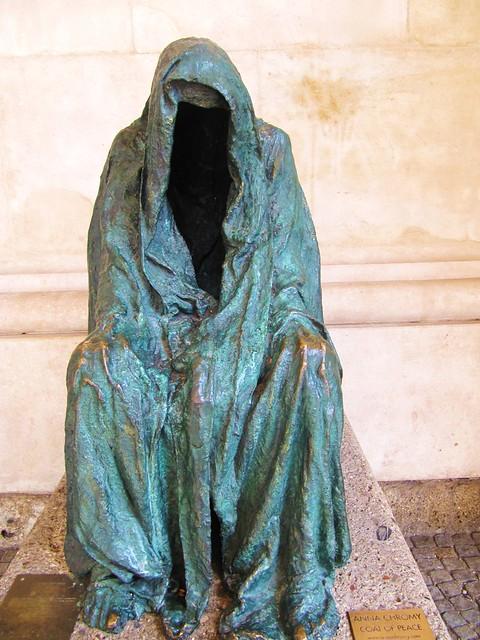 Cloak of Conscience by Anna Chromy at Salzburg