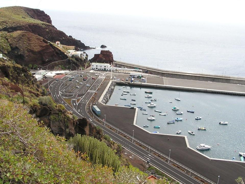 Punta y Puerto Estaca isla de El Hierro