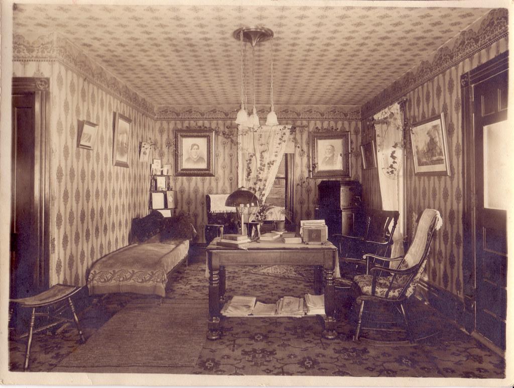 Victorian Parlor Interior