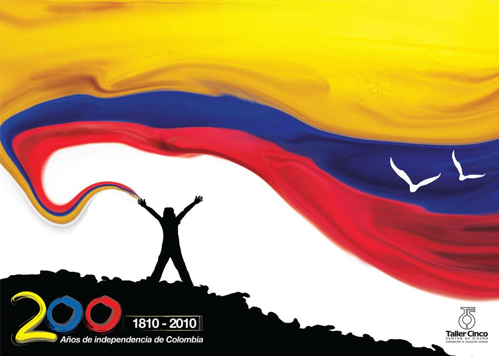 Bicentenario Colombia  Afiche Sobre el Bicentenario de