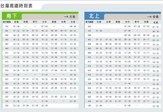 臺灣高速鐵路股份有限公司新聞稿 (班次時刻表)   日期: 12/26/2006 09:51PM 主旨: 臺灣高速鐵路股…   Flickr