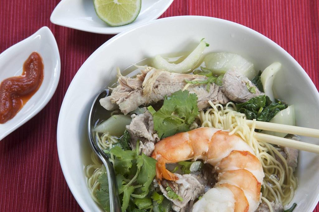 Vietnamese Egg Noodle Soup   Egg noodle soup   simpleviet   Flickr