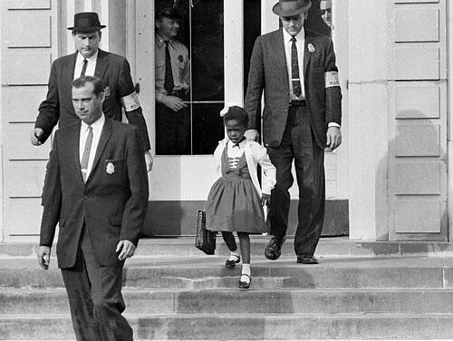 Ruby Bridges Goes To School