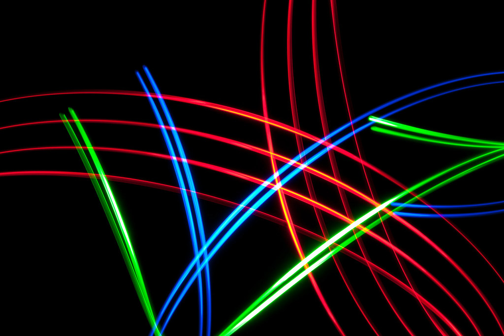 Light Painting   The camera was zoomed in to capture the cen…   Flickr