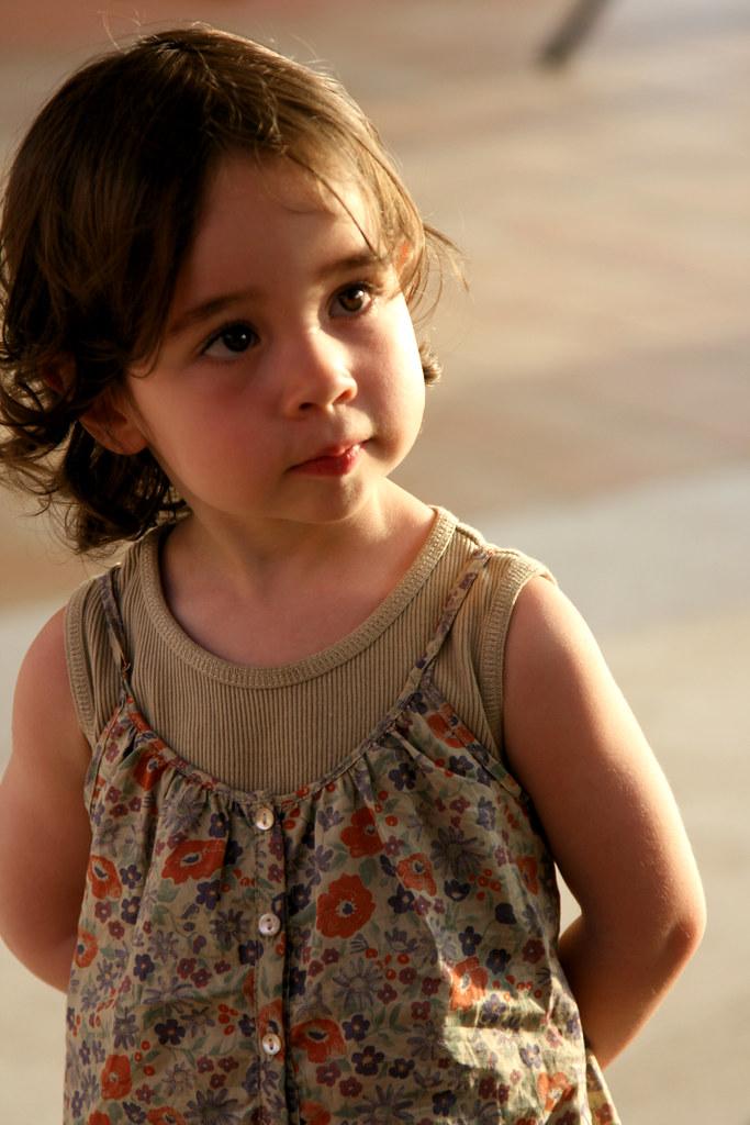 unknown cute little girl