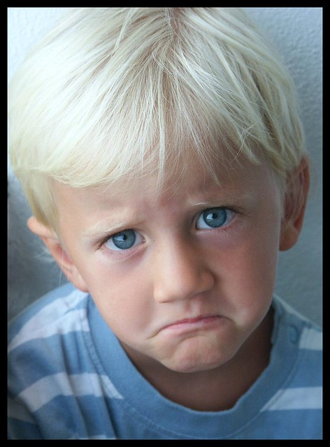 sad child pouting pouting