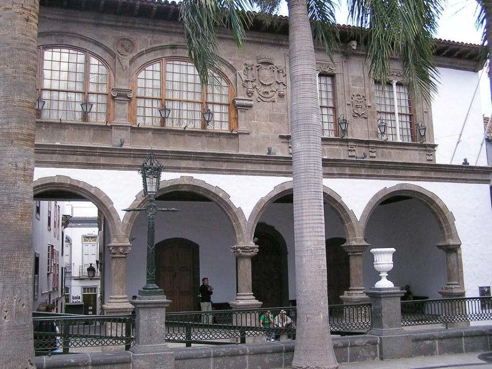 Plaza España Casas Consistoriales Santa Cruz de la Palma
