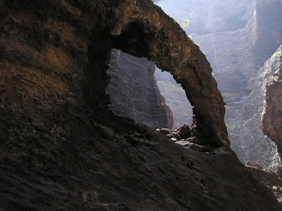 Barranco de Masca senderismo isla de Tenerife Islas Canarias 28
