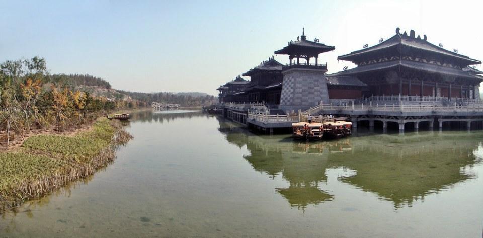 vista del Monasterio budista en Cuevas de Yungang Datong China 01 Patrimonio de la Humanidad Unesco