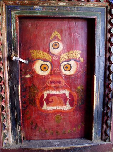 Tibet, Lhasa Door