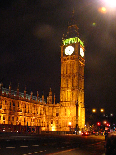 clock tower (home of Big Ben)