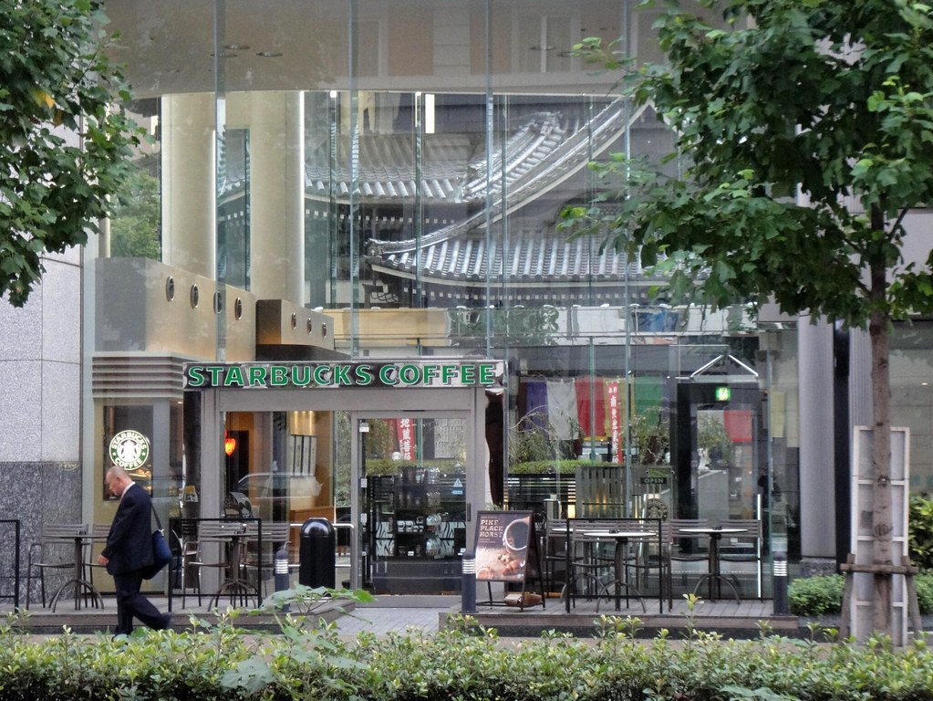 スターバックス(STARBUCKS) 京都烏丸六角店   Starbucks   いわいわさん   Flickr