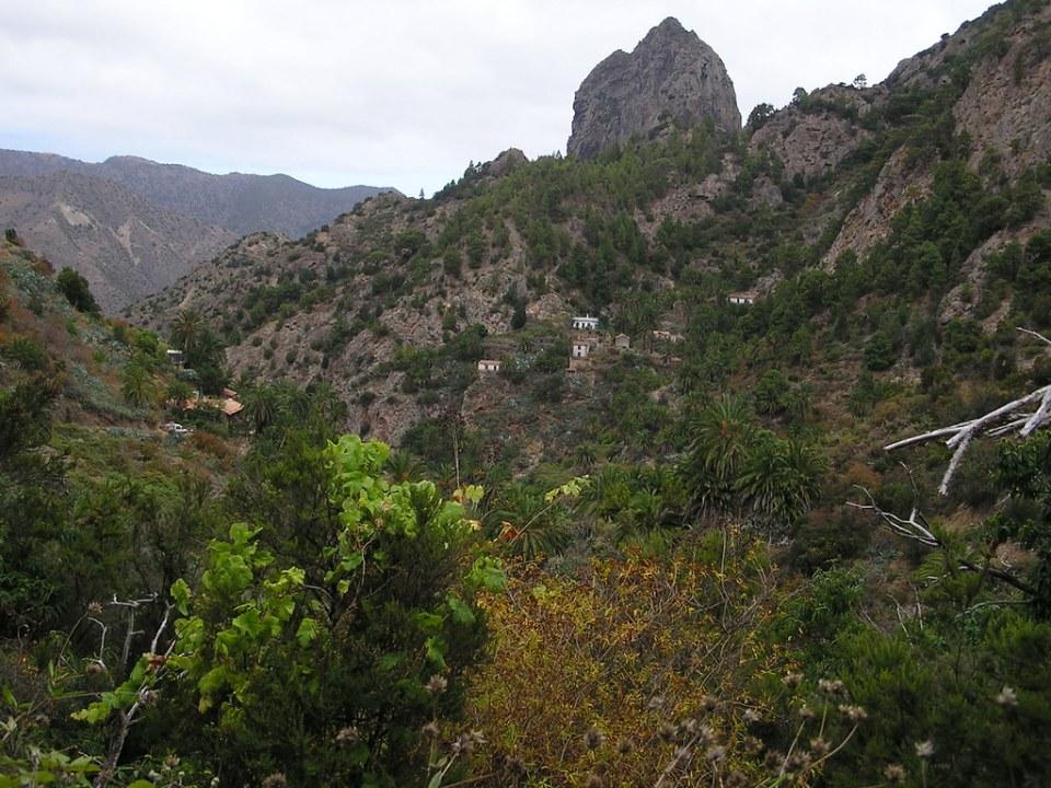 Roque Cano Vallehermoso isla de La Gomera 89