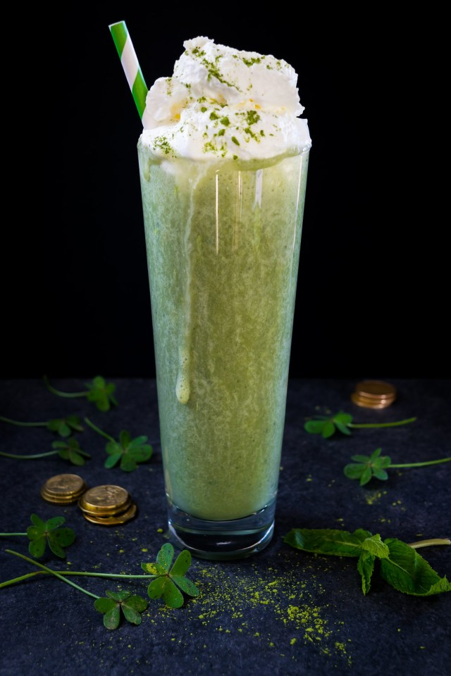 matcha made in heaven shake