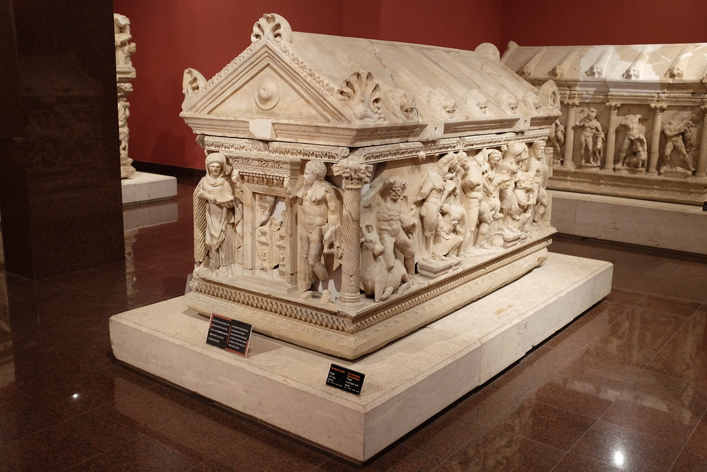 Heracles Sarcophagus in Antalya Museum