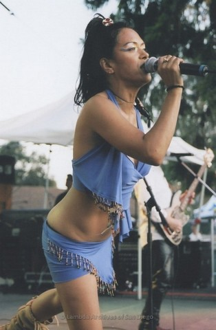 Main Stage at San Diego LGBTQ Pride Festival, 2007