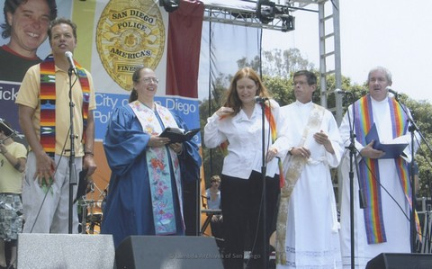 Commitment Ceremony at San Diego LGBTQ Pride Festival, 2007