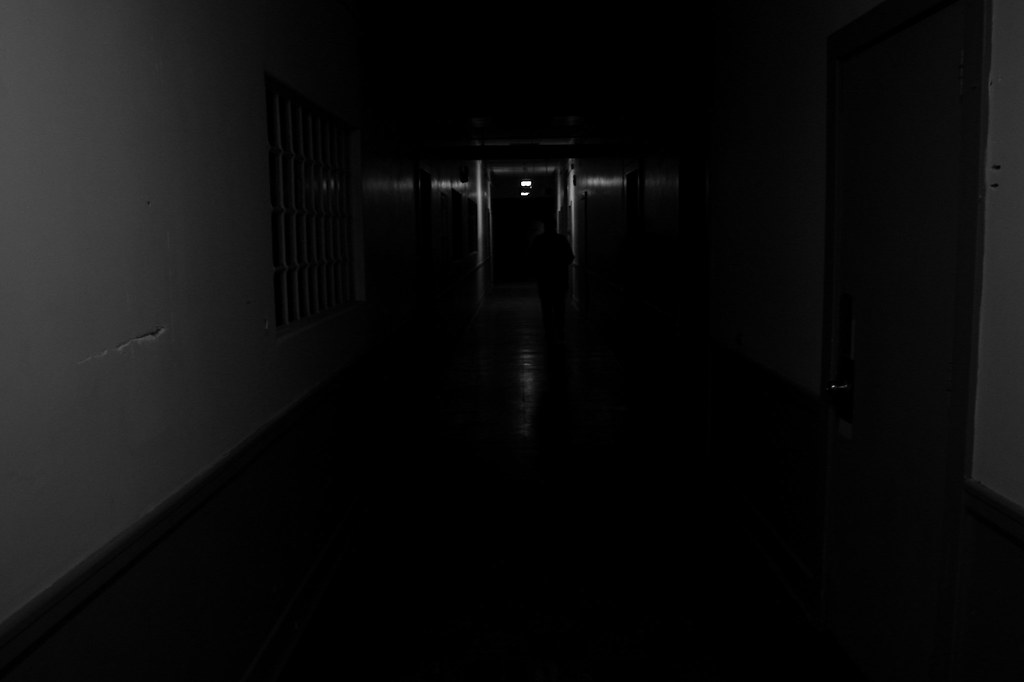 Abandoned Mental Hospital Haunted Hallway 3  Gregg
