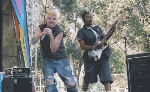 Youth Stage at San Diego LGBTQ Pride Festival, 2005