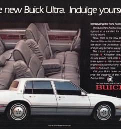 1989 buick park avenue ultra by aldenjewell [ 1024 x 771 Pixel ]