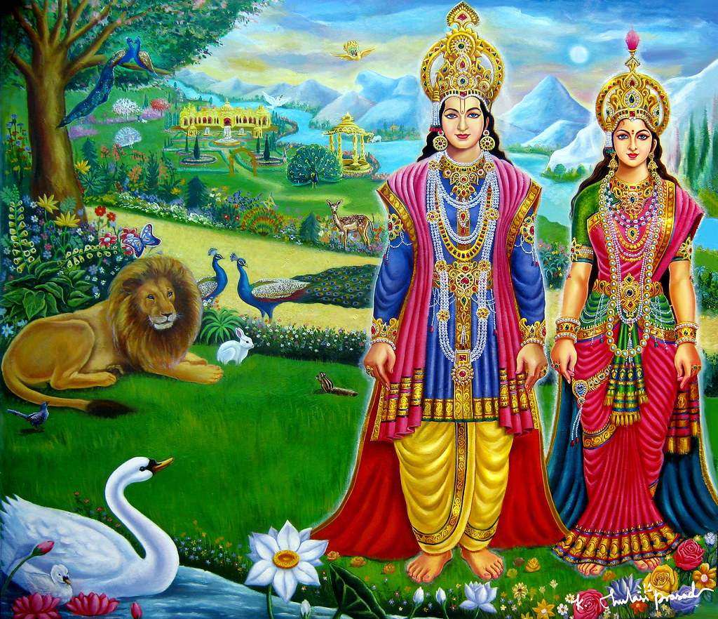 Hd Live Wallpaper In 3d Laxmi Narayan Full Brahma Kumaris Flickr
