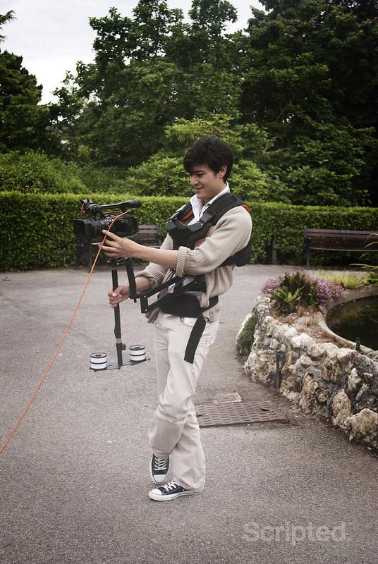 Adrian on Camera