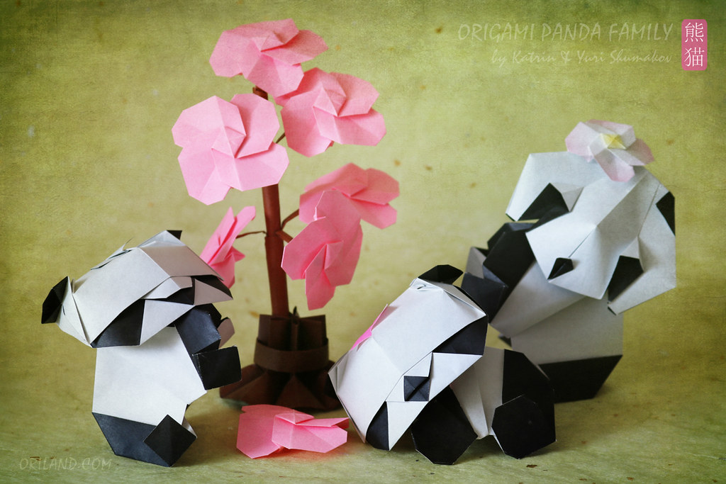 Rare Origami Cherry Blossom Diagram Download Paper Kawaii