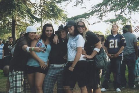 Women's Space at San Diego LGBTQ Pride Festival, 2007