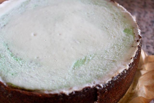 Pistachio White Choco Cheesecake - 23