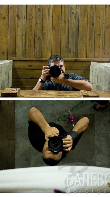 Снимки зад кадър