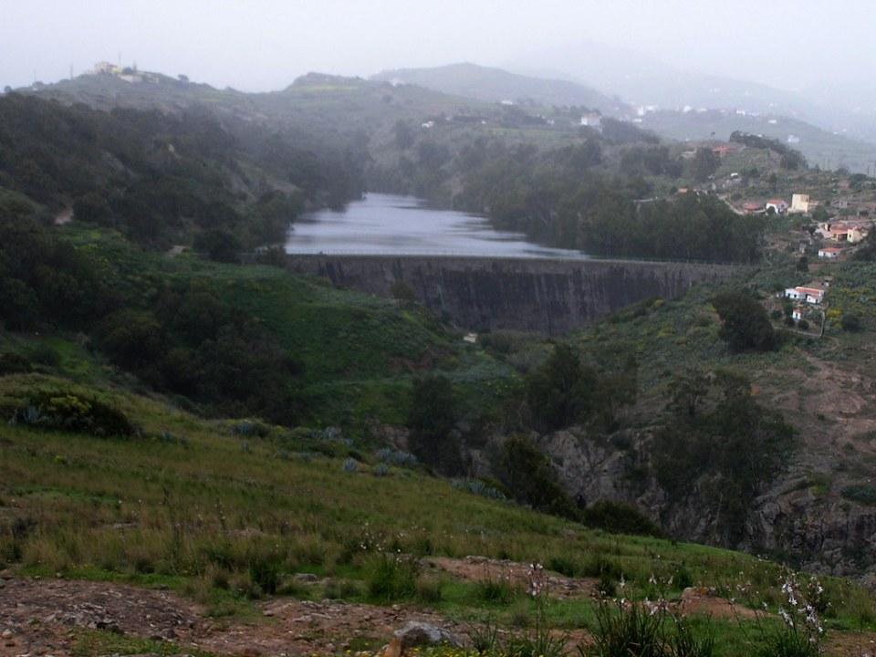 Presa de Sintes o de La Umbria Barranco de Castillejos isla de Gran Canaria 118
