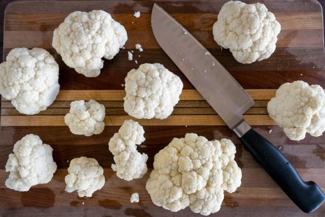 clouds of cauliflower
