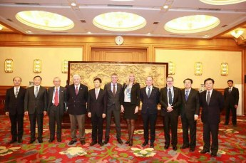 Bruno Gollnisch en Chine - Meeting with Mr. Meng 4