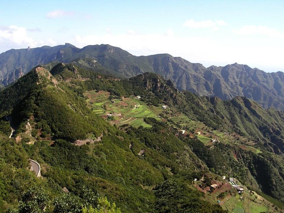 Ruta las vueltas de Taganana Macizo de Anaga Isla de Tenerife Islas Canarias 162
