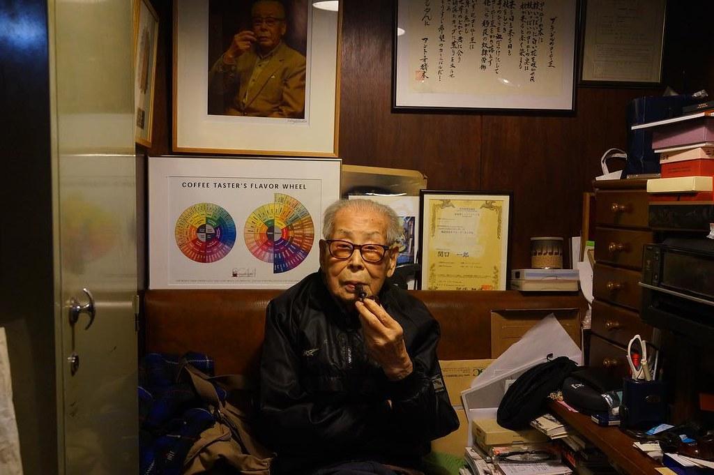 日本第一家咖啡專賣店創始者「關口一郎」先生… the creator of first coffee only sh…   Flickr