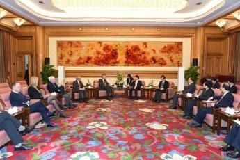 Bruno Gollnisch en Chine - Meeting with Mr. Meng 3