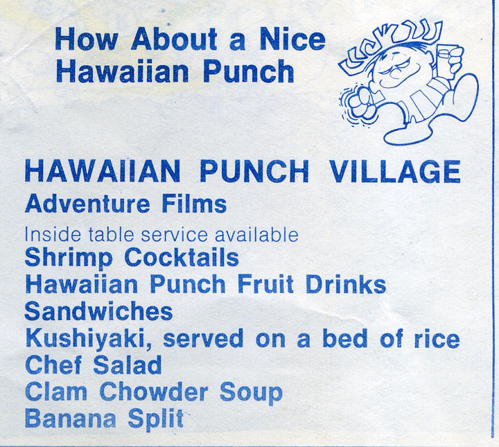 Hawaiian Punch Village