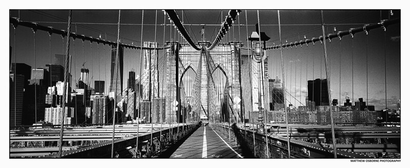Hasselblad XPan NYC Cityscape