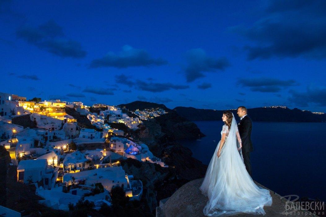 Санторини, Гърция - Ивайло и Маринела