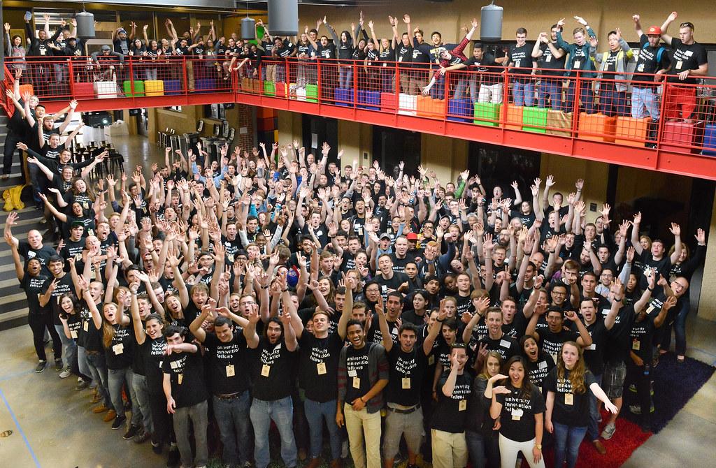 University Innovation Fellows Silicon Valley Meetup 2016