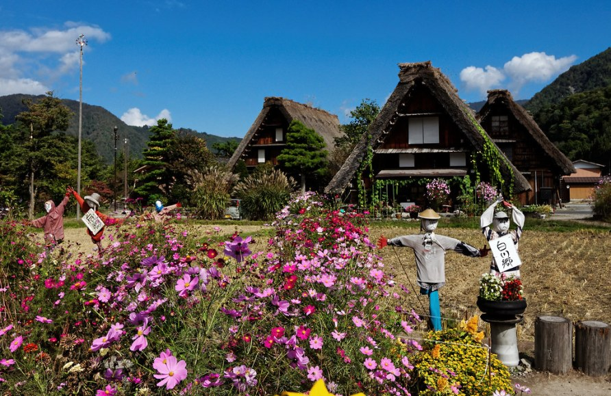 Scarecrows, Shirakawa-go