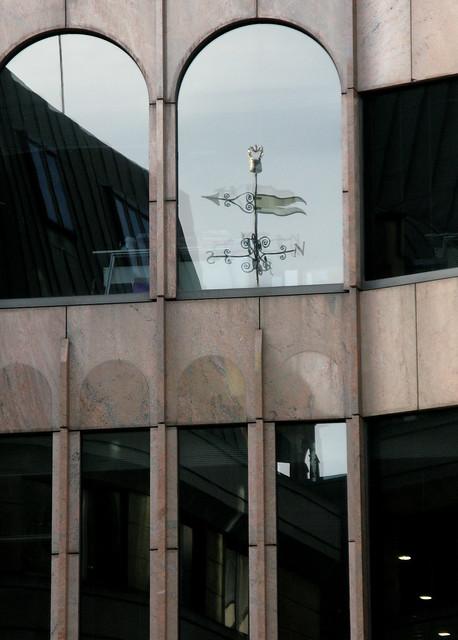 St. Olave's weathervane