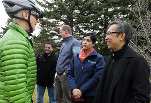 2016 12 BikeBrampton TRCA Brampton staff Cycling Infrastructure announcement_300