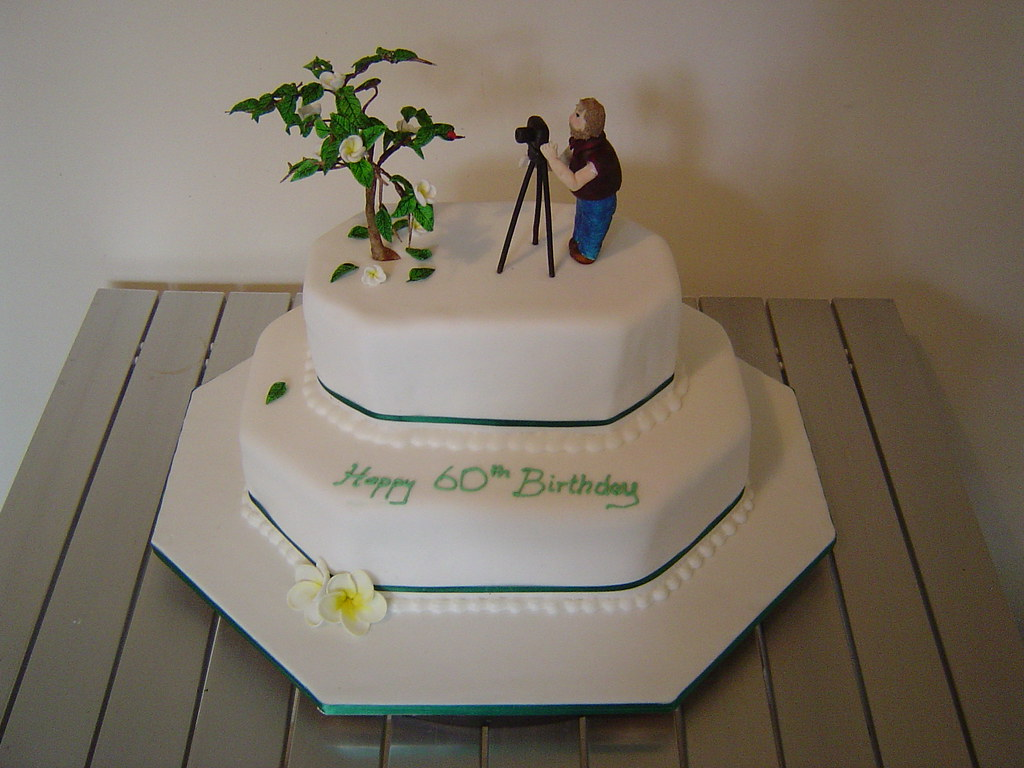 Dads 60th Birthday Cake My Dad Is Really Into Photography Flickr