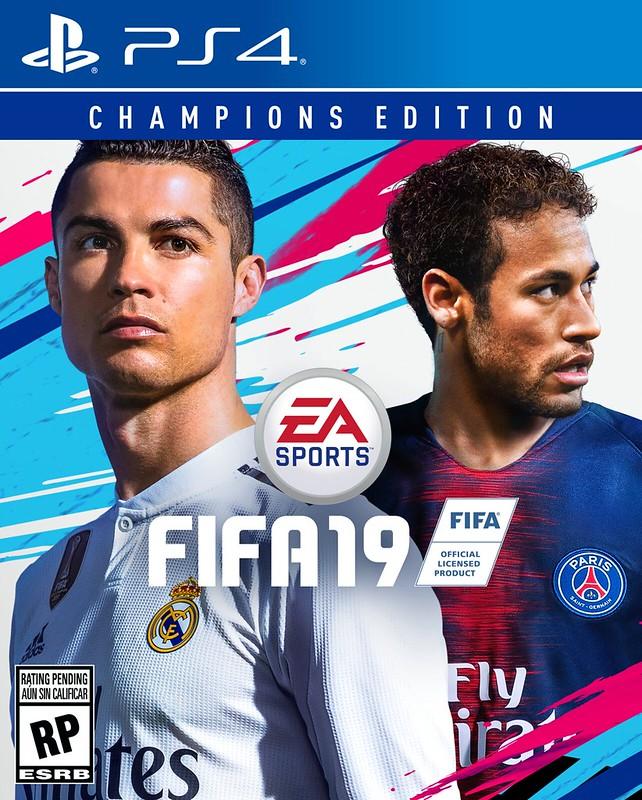 FIFA 19 - portadas